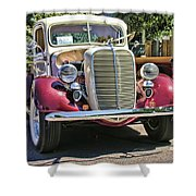 1937 Ford Shower Curtain