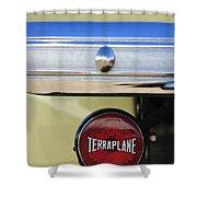 1937 Hudson Terraplane Pickup Truck Taillight Shower Curtain