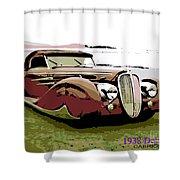 1938 Delahaye Cabriolet Shower Curtain