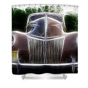 1939 Ford Deluxe Shower Curtain