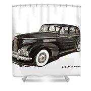 1939 Lasalle Sedan Classic Shower Curtain