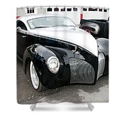 1939 Lincoln Zephyr  7680 Shower Curtain