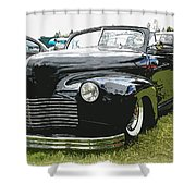 1940 Chevy Convertable Shower Curtain