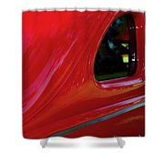 1940 Ford Coupe Side Window Shower Curtain