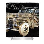 1940 Pontiac Transparent Shower Curtain