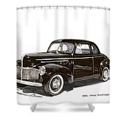 Studebaker Business Coupe Shower Curtain