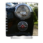 1941 Cadillac Headlight Shower Curtain