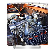 1941 Flathead Ford Shower Curtain