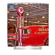 1942 Ford Ammunition Or Ambulance Truck Shower Curtain