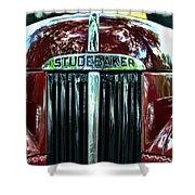 1947 Studebaker Grill Shower Curtain