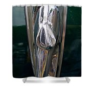 1948 Chevy Coupe Trunk Latch Shower Curtain
