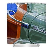 1948 Chrysler Town And Country Convertible Coupe Shower Curtain