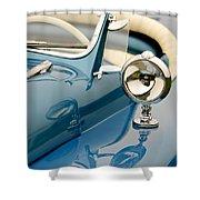 1948 Lloyd Templeton Mercury Saturn Bob Hope Roadster Shower Curtain