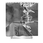 1948 Rolls-royce Hood Ornament 2 Shower Curtain