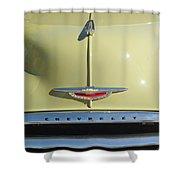 1950 Chevrolet Fleetline Grille 2 Shower Curtain