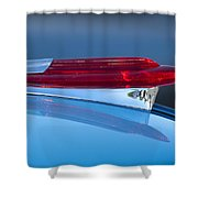 1950 Chevrolet Hood Ornament 5 Shower Curtain