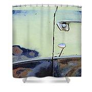 1950 Ford Crestliner Door Handle Shower Curtain