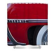 1950 Oldsmobile Rocket 88 Wheel Shower Curtain