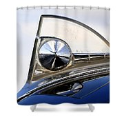 1950s Ford Hood Shower Curtain