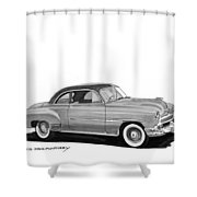 1951 Chevrolet Coupe Shower Curtain