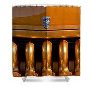 1951 Mercury Hot Rod Grille Shower Curtain