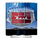1951 Nash Emblem Shower Curtain