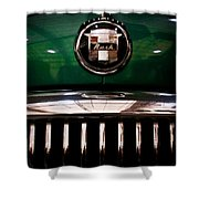 1951 Nash Statesman Super 6 Shower Curtain by David Patterson