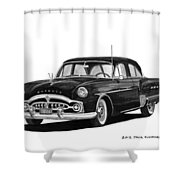 1951 Packard Patrician 400 Shower Curtain