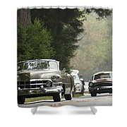 1952 Cadillac Special Roadster Shower Curtain