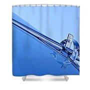 1953 Buick Hood Ornament 2 Shower Curtain