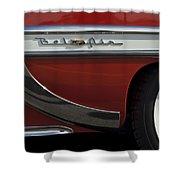 1953 Chevrolet Belair Emblem Shower Curtain