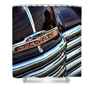 1953 Chevy Pickup Grille Shower Curtain
