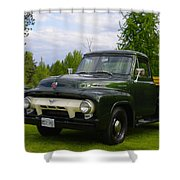 1953 Ford F-100 Shower Curtain