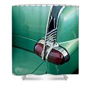 1953 Packard Caribbean Convertible Taillight Shower Curtain