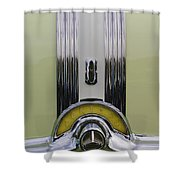 1953 Pontiac Emblem Shower Curtain