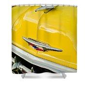 1954 Chevrolet Hood Ornament 4 Shower Curtain