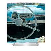 1954 Chevy Flo Abel Shower Curtain