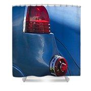 1954 Cramer Comet Taillight Shower Curtain