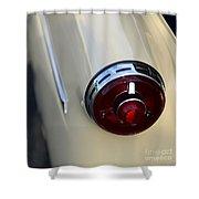 1954 Ford Customline Tail Light Shower Curtain