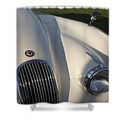 1954 Jaguar Xk 120 Se Roadster Shower Curtain
