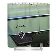 1954 Lincoln Capri Shower Curtain