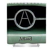 1955 Allard J2r Emblem Shower Curtain