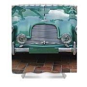 1955 Aston Martin Shower Curtain