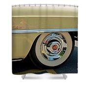 1955 Cadillac 2 Shower Curtain