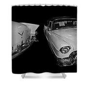 1955 Cadillac Series 62 El Dorado Convertible Shower Curtain