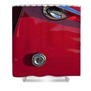 1955 Chevrolet 210 Door Handle Shower Curtain