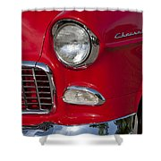 1955 Chevrolet 210 Front End Shower Curtain