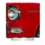 1955 Chevrolet 210 Headlight Shower Curtain