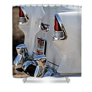 1955 Chevrolet 210 Taillights Shower Curtain