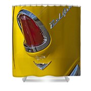 1955 Chevrolet Nomad Taillight Shower Curtain